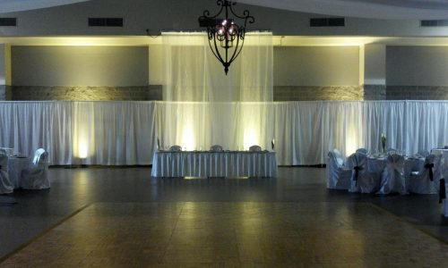 pipe-drape-white-fundraiser-rainwater-convention-center-georgia-florida