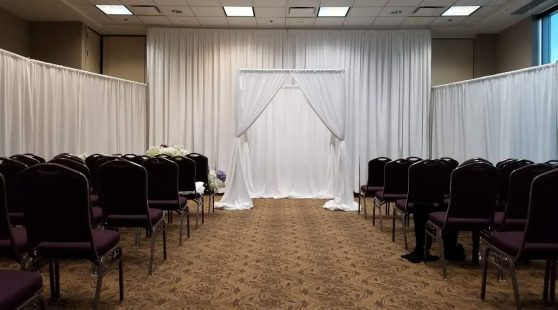 drape-arch-way-rental-georgia-florida